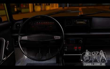 Zastava 125PZ Taxi para GTA San Andreas traseira esquerda vista