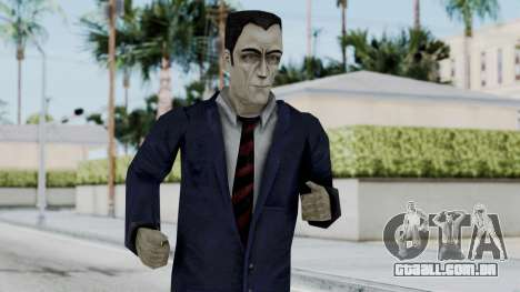 GMAN v2 from Half Life para GTA San Andreas
