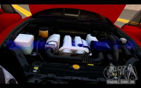 Mazda MX-5 para GTA San Andreas vista superior
