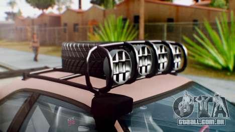 Nissan Skyline GT-R R34 RAID Spec para GTA San Andreas vista traseira