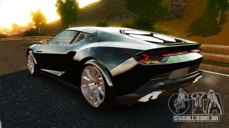 Lamborghini Asterion LP900 para GTA 4 traseira esquerda vista