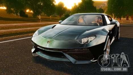 Lamborghini Asterion LP900 para GTA 4 vista interior