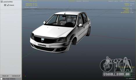 Roda GTA 5 2008 Dacia Logan v2.0 FINAL