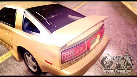 Toyota Supra MK3 Tunable para o motor de GTA San Andreas