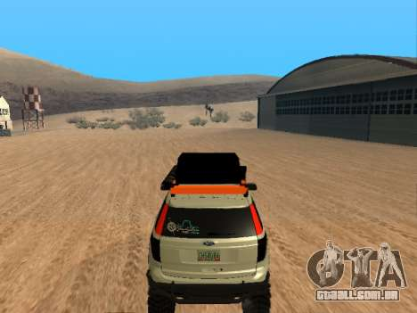 Ford Explorer 2013 Off Road para GTA San Andreas vista direita