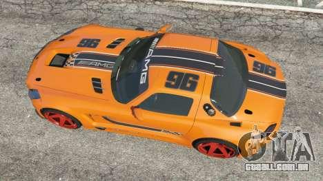 GTA 5 Mercedes-Benz SLS AMG GT3 voltar vista