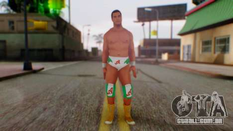 WWE Alberto para GTA San Andreas segunda tela
