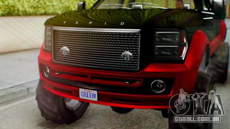 GTA 5 Vapid Sandking SWB IVF para GTA San Andreas vista direita