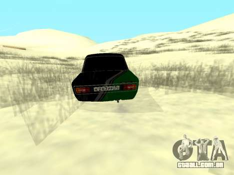 Vaz 2106 Ex animo Esporte para GTA San Andreas esquerda vista