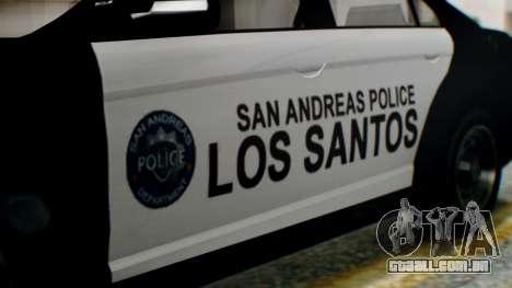 GTA 5 Police LS para GTA San Andreas vista direita
