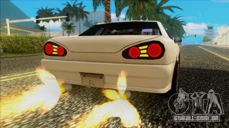 Elegy HellCat para GTA San Andreas vista direita