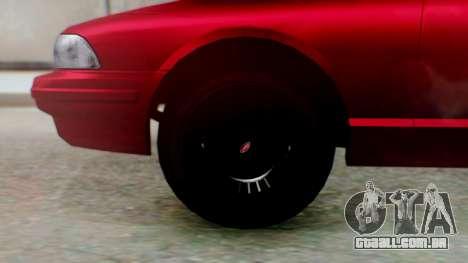 GTA 5 Vapid Stanier II para GTA San Andreas traseira esquerda vista