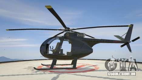 Hughes OH-6 Cayuse para GTA 5