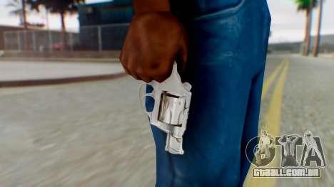 Charter Arms Undercover Revolver para GTA San Andreas terceira tela