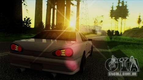 Elegy HellCat para GTA San Andreas esquerda vista