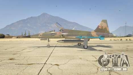 GTA 5 Northrop F-5E Tiger II FAB segundo screenshot