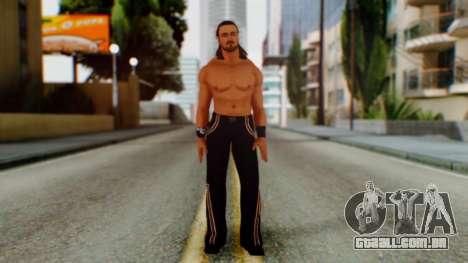WWE Drew McIntyre para GTA San Andreas segunda tela