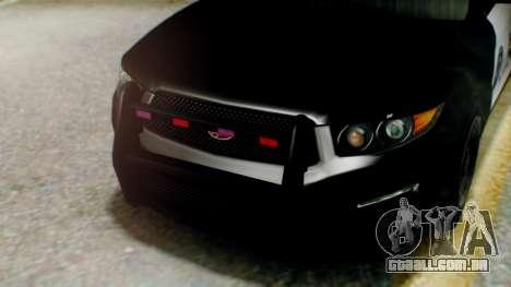 GTA 5 Police LS para GTA San Andreas vista traseira