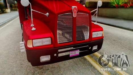 Kenworth T600 Aerocab 72 Sleeper para GTA San Andreas interior