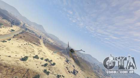 GTA 5 Northrop F-5E Tiger II FAB oitmo screenshot