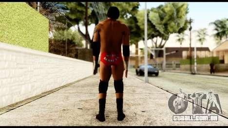 WWE Wade Barret para GTA San Andreas terceira tela