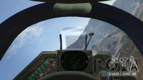 GTA 5 Dassault Mirage 2000-C FAB quarto screenshot