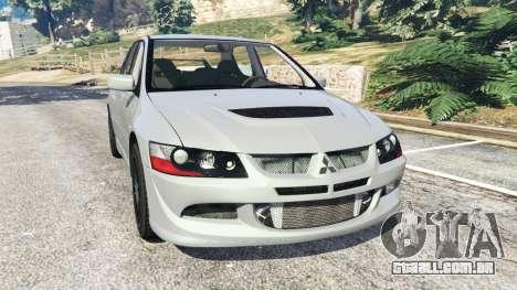 Mitsubishi Lancer Evolution VIII MR para GTA 5