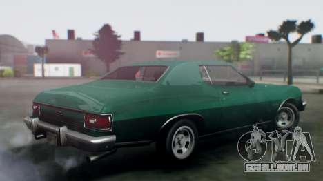 Ford Gran Torino 1974 IVF para GTA San Andreas esquerda vista