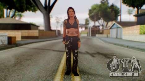 WWE Lita para GTA San Andreas segunda tela