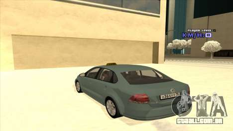 Volkswagen Polo para GTA San Andreas vista inferior