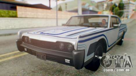 GTA 5 Vapid Chino Tunable IVF para GTA San Andreas interior