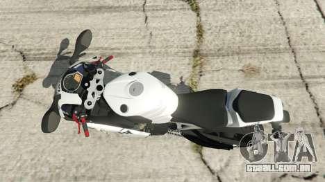 GTA 5 Honda CBR1000RR [Repsol White] voltar vista