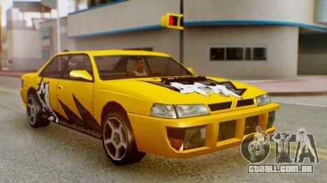 Sultan Винил из need For Speed ProStreet para GTA San Andreas vista direita