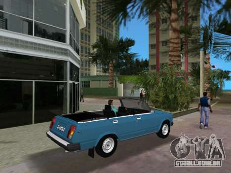 VAZ 21047 Conversível para GTA Vice City vista direita