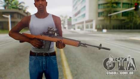 Arma2 M14 Sniper para GTA San Andreas terceira tela