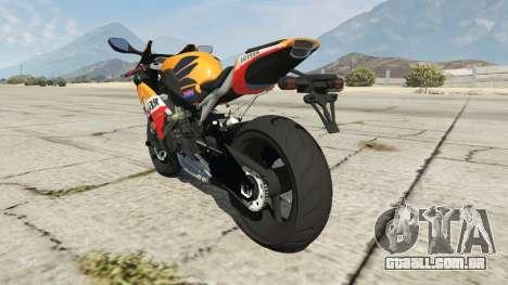 Honda CBR1000RR [Repsol] para GTA 5