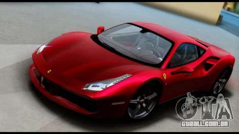 Ferrari 488 GTB 2016 para GTA San Andreas