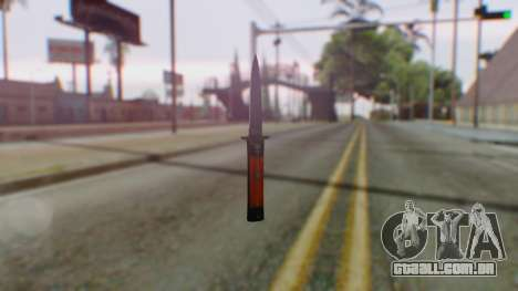 GTA 5 Bodyguard Switchblade para GTA San Andreas