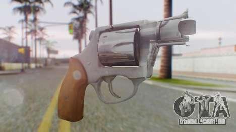 Charter Arms Undercover Revolver para GTA San Andreas