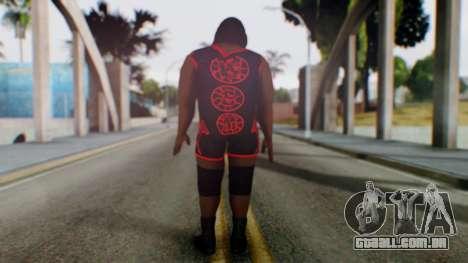 Mark He WWE para GTA San Andreas terceira tela