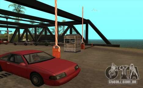 Personalizado para GTA San Andreas terceira tela