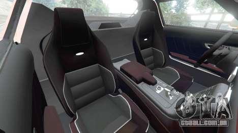 GTA 5 Mercedes-Benz SLS AMG GT3 vista lateral direita