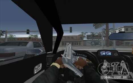 Elegy Drift King GT-1 [2.0] para GTA San Andreas vista traseira