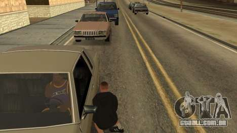 Crush Car para GTA San Andreas terceira tela
