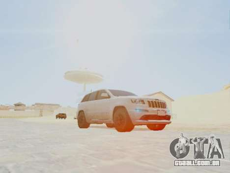 Jeep Grand Cherokee SRT8 2013 Tuning para GTA San Andreas vista direita