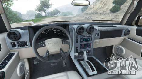 Hummer H2 2005 [tinted] para GTA 5