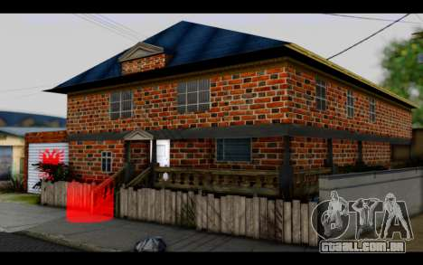 New CJ House para GTA San Andreas segunda tela