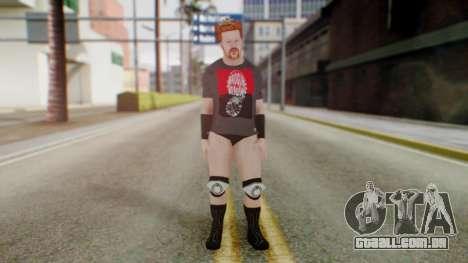 Sheamus 1 para GTA San Andreas segunda tela