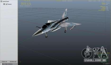 GTA 5 Dassault Mirage 2000-C FAB nono screenshot