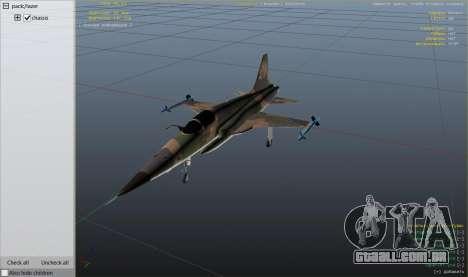 GTA 5 Northrop F-5E Tiger II FAB nono screenshot